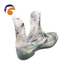China Supplier Rain Boot PVC Jelly Shoes Cheap Rain Boots