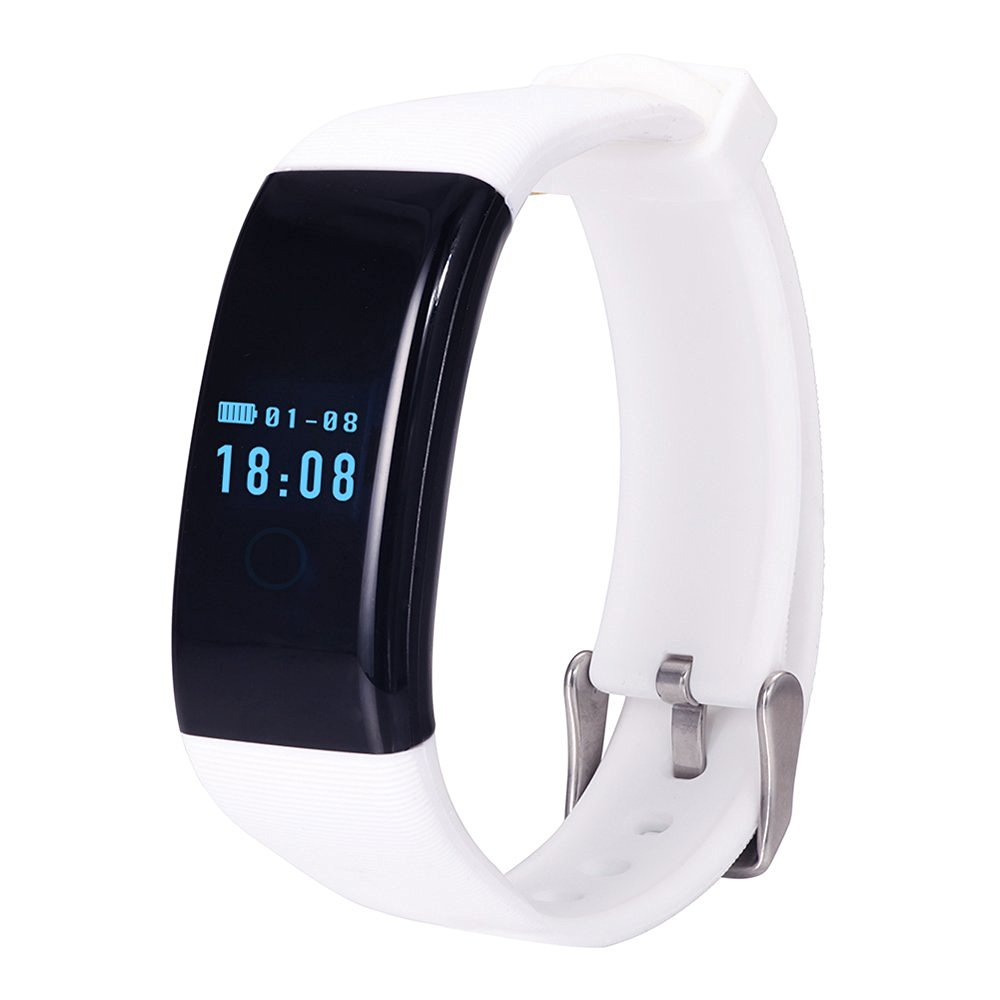 YSX Smart Sport Fashion Bluetooth Watch , Health Pedometer Sync Smart Watch. (Fashion, White)