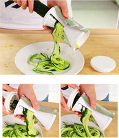 Spiral Vegetable Cutter and Fruit Twister Slicer for Kitchen Cooking Tools