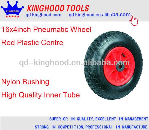 Pneumatic Wheel with Plastic Centre Launch Trolley Boat Cart Wheel