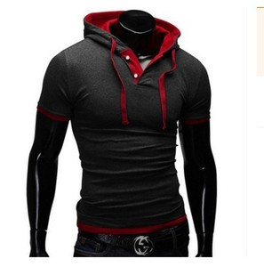 High Quality Short Sleeve Africa Mens Hoodie Shirts Business Shirt