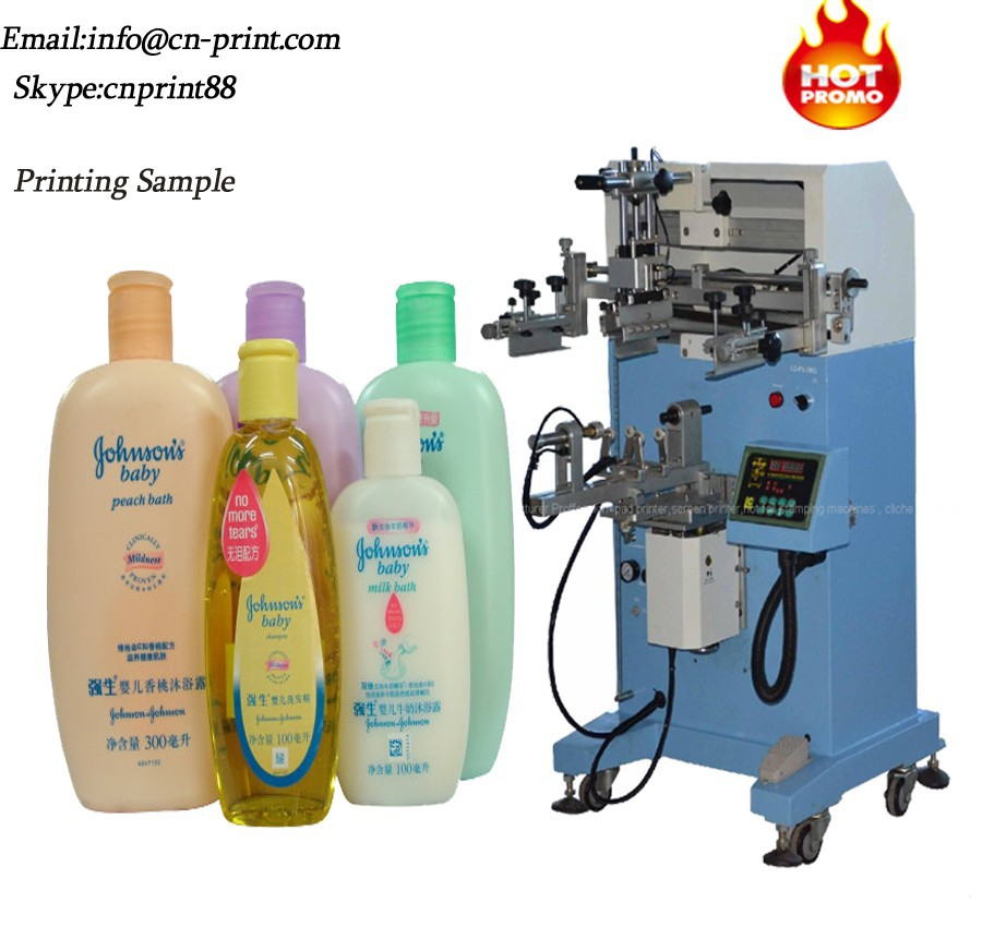 silicone bracelet Screen Printing Machine T-shirt screen printer bottle Cup screen printing machine