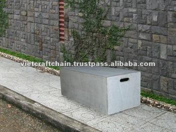 Léger Béton Banc, Banc De Ciment, Banc De Jardin