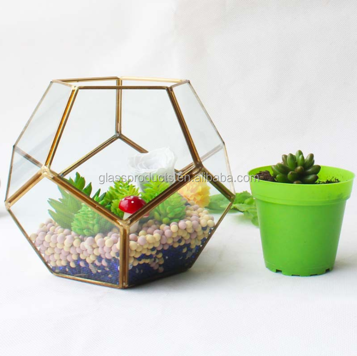 Round Indoor Hanging Geometric Glass Globe Terrarium Wholesale Buy
