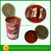 CANNED FISH JACK MACKEREL IN TOMATO SAUCE