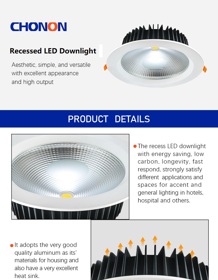 CE RoHs Trending Hot Products 30W Recessed Mini LED Ceiling Downlight