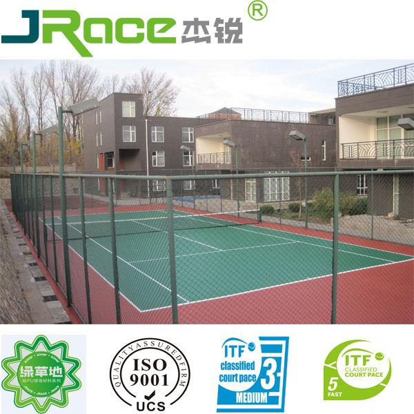 Portable Outdoor Acrylic Tennis Flooring