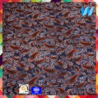 sublimation transfer printing on silk fabric indian paisley print fabric