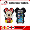 Cute Minnie Mouse Phone Case for iphone 6 Plus 3D Silicone phone case