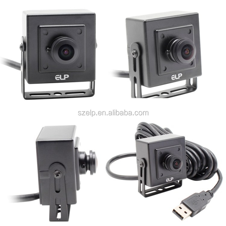 ELP H.264 1080P full HD 1/2.9 inch Sony IMX 322 uvc cmos usb wide angle cctv camera with microphone for industrial use