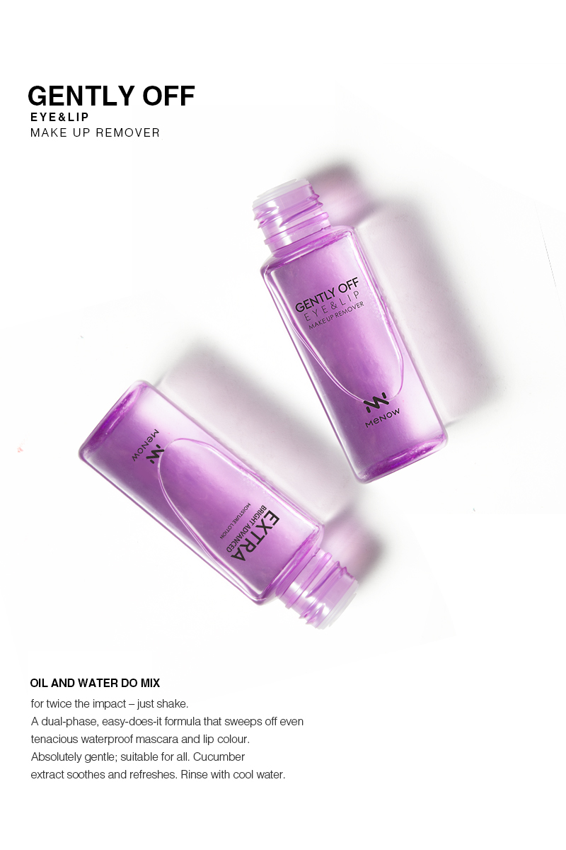 Menow SC07 Oil & Water Do Mix Eye & Lip Remover