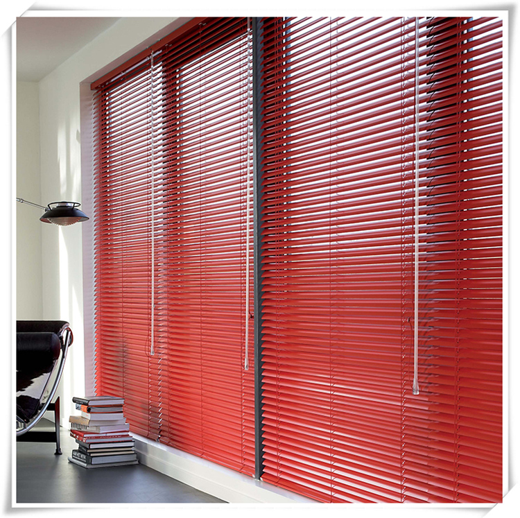 Top quality Classic PVC / wooden venetian window blind with Bracket