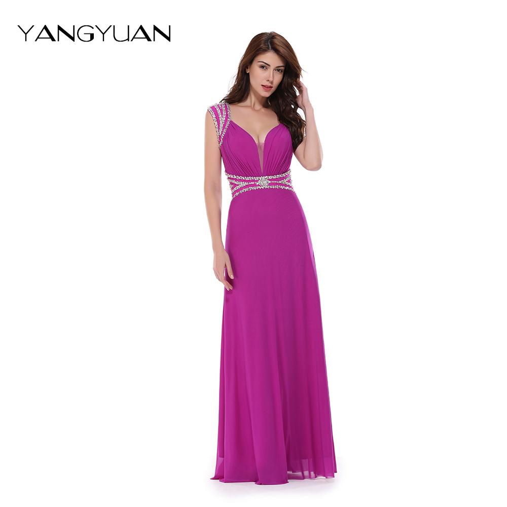 Venta al por mayor vestidos para damas de honor de noche-Compre ...