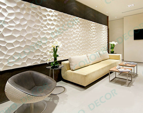 Wholesale Decorative 3d Wall Panel Pvc 3d Interior Wall