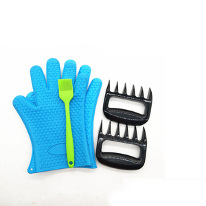 Waterproof Grill Gloves for Men & Women Double as Pot Holders & Oven Mitts