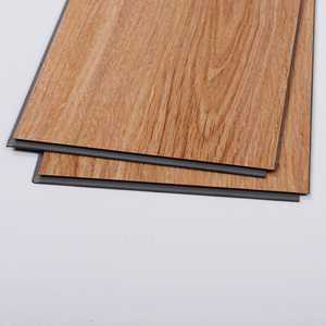 New Design Wood Grain Anti-slip CE Certification Durable SPC PVC Click Lock Flooring