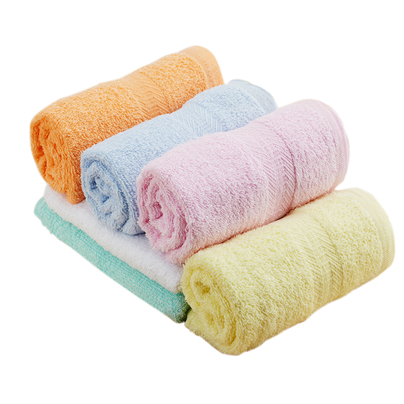 bath hand face towel/wash cloth/bar mop/fine knit