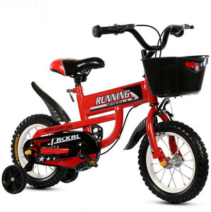 China supplier price small child bike, fashion 4 wheel single speed boys 16 inch lowrider bike, bule color children's bicycle