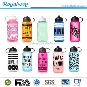 c876810cb401f Amazon Best Selling BPA Free Victoria Secret Pink Water bottle Campus Sport  Drinking Bottles 1000ml