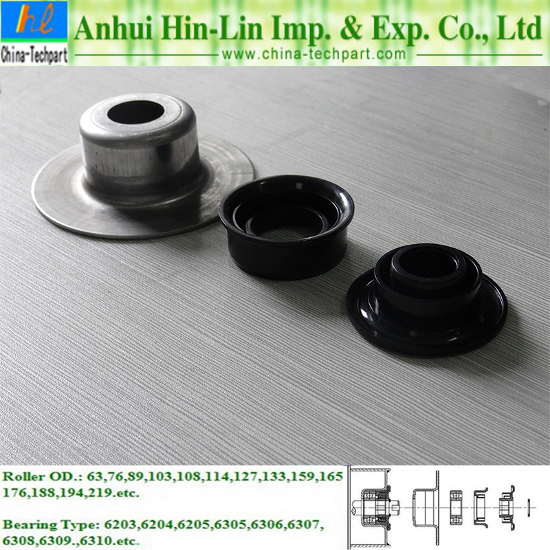 Heavy Duty Conveyor Roller Bearing Housing For Idler Roller