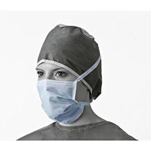 Procedure Pleated Face Mask with Ties Model #: DX2205 Qty: 1 Box of 50 Genoma Restorative Night Creme - 1.67 fl. oz. by DAdamo Personalized Nutrition (pack of 3)
