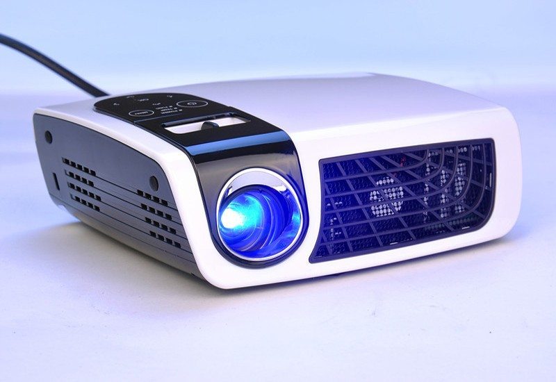 Hot Sale ! MINI Home Theater Led Projector Home Cinema FULL HD 1080P 1280*800 Support 2D-3D