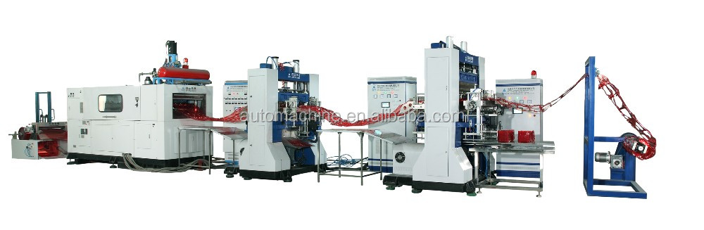 Professional machinery automatic plastic cup tray thermoforming machine