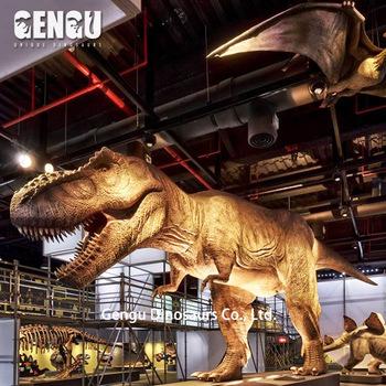 Exposicao Do Museu De Dinossauros Animatronic Dinossauro T Rex