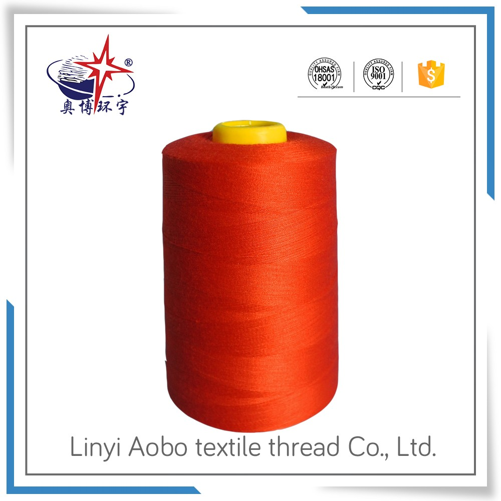 high quality and hot sale Embroidery Thread for Sewing Polyester Yarn 402 made inChina