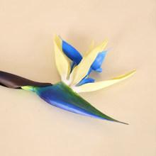Искусственный цветок имитация Strelitzia яркие украшения для дома и свадьбы Прямая поставка(Китай)