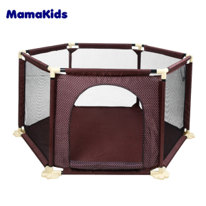 Different shape rectangle round square playpen for baby