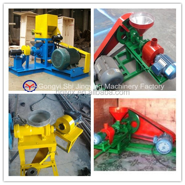 Animal feed store sale floating and sinking fish feed pellet machine
