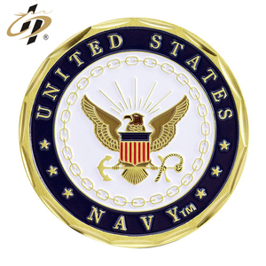 Custom metal USN cheap souvenir coin military navy challenge coins