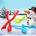 20CM Plastic Winter Snow Ball Maker Sand Mold Tool Kids Toy Lightweight Compact Snowball Fight Outdoor