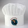 Non woven biodegradable promotional chef cap, chef hat