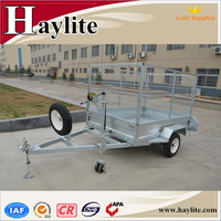 manufacturer single axle box cargo trailer