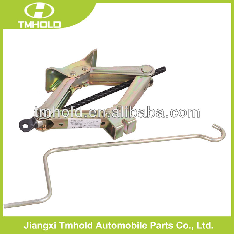Mechanical CE certificate scissor jack with 21MM HEX head operated