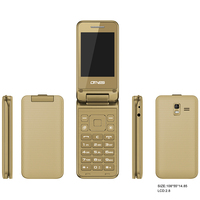 New F25 OEM wholesale price 2g GSM 2.8 inch flip phone
