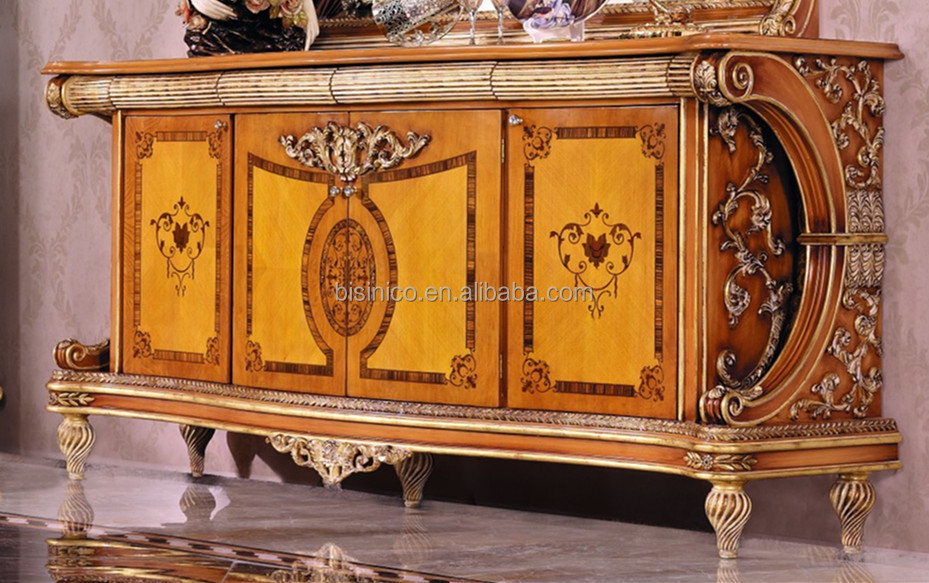 Luxury French Style Empire Dining Room Sideboard/european Wood ...