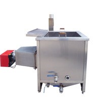 Factory electric countertop fryer for fried chicken / peanut / broad bean