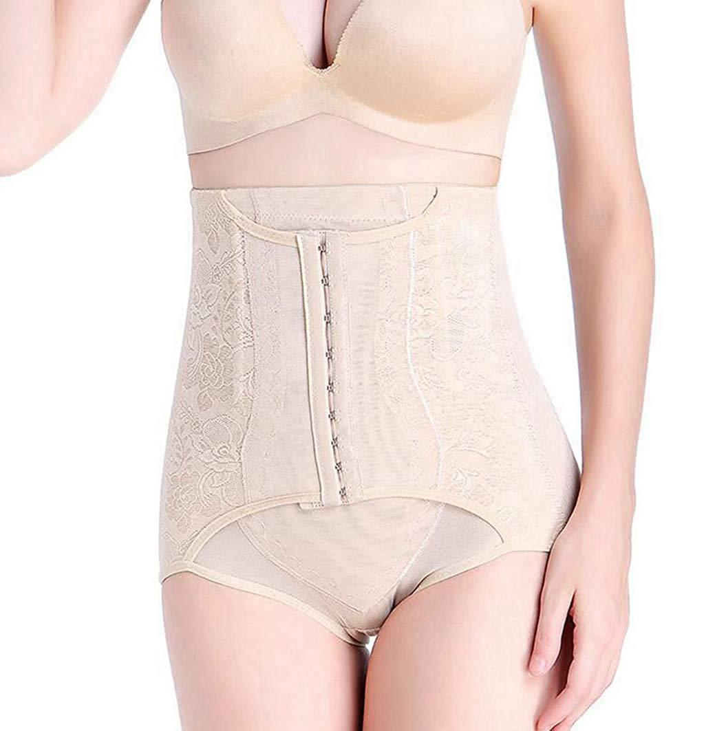 ASO-SLING Women High Waist Control Panties Slimming Body Shapewear