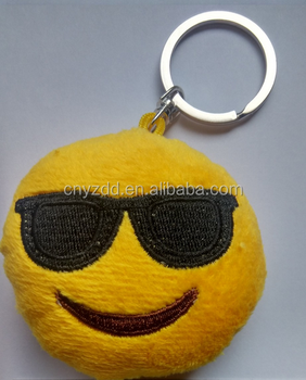 Free Sample Emoji Keychain/new Wholesale Emoji Key Chain 3styles ...