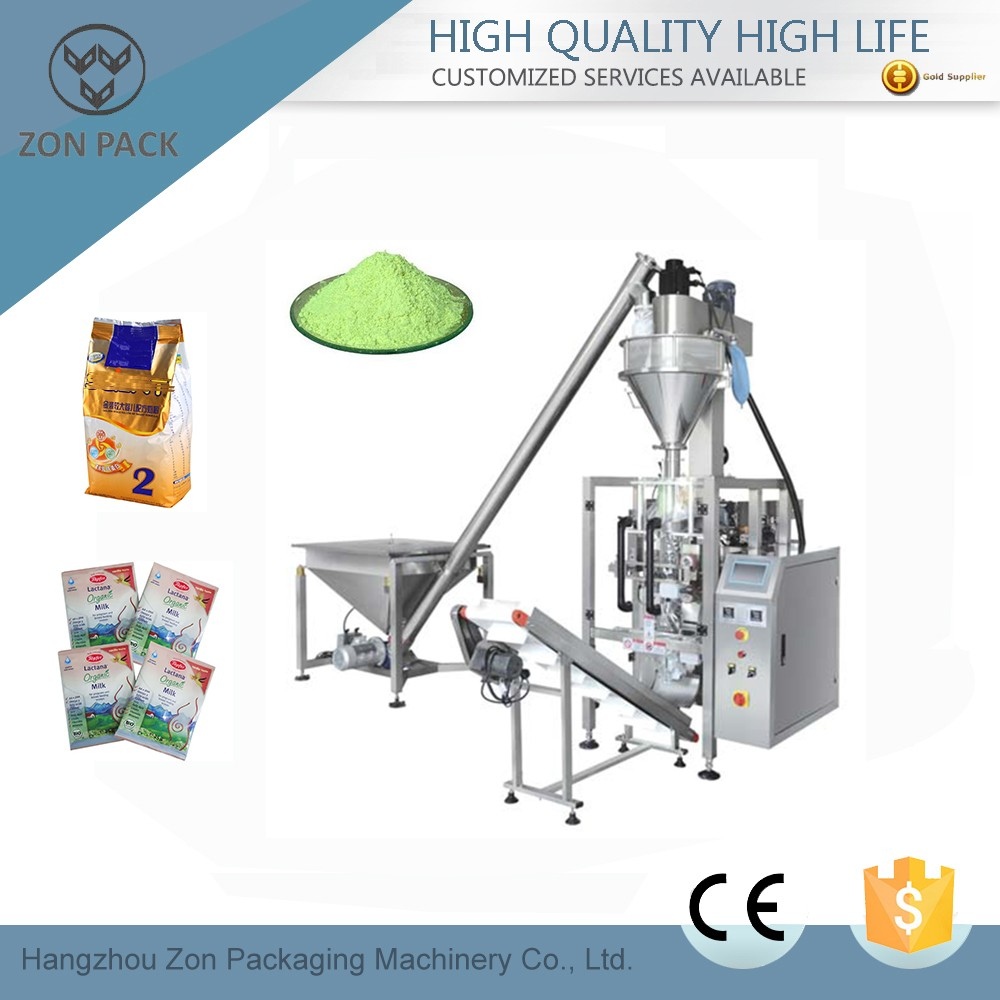 Automaic powder packing machine for detergent /milk /flour /coffee/ spice powder