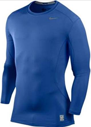 784e0828e Get Quotations · Nike Pro Combat Core Fitted Long Sleeve Shirt