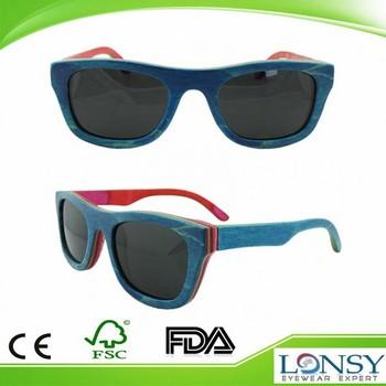 Sungles Designer | Recycled Skateboard Wood Sunglasses Designer Color Wooden Usnglasses