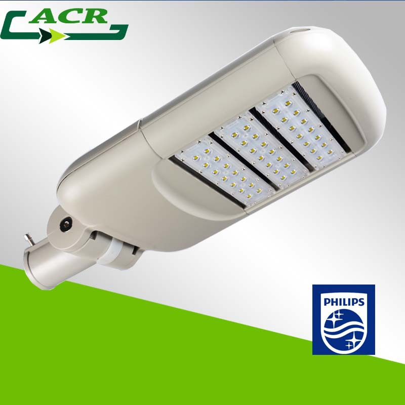 5 year warranty led street lighting 100W with philips led and philip driver ce rohs ip65 certification, led street light price