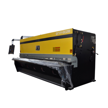Mechanical shearing machine, Q11 series metal sheet cutting machine,electric shears from china manufacturer