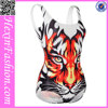 Lover-beauty Hot Sale Animal Ditigal Pattern Classy Sexy Bikini Swimsuit