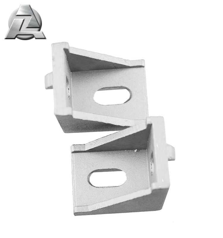 extruded 1515 3030 series t slot shelf brackets aluminum connectors