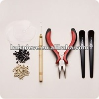 diy feather hair extension tool kits